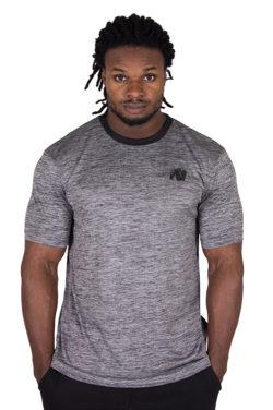 Fitness Shirt Zwart - Gorilla Wear Roy-1