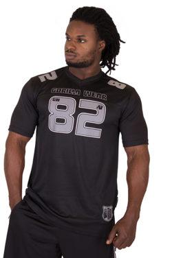 Fitness Shirt Zwart Grijs - Gorilla Wear Fresno-1