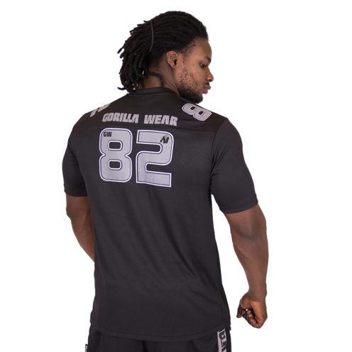 Fitness Shirt Zwart Grijs - Gorilla Wear Fresno-2