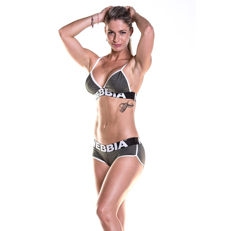 Fitness Shorts khaki - Nebbia Shorts 266-1
