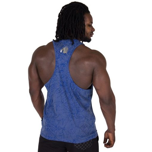 Fitness Tank Top Blauw - Gorilla Wear Mill Valley-2