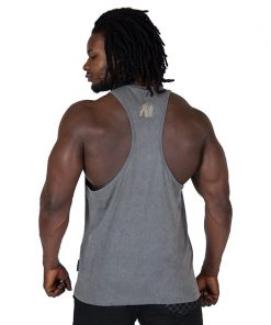 Fitness Tank Top Grijs - Gorilla Wear Mill Valley-2