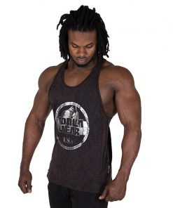 Fitness Tank Top Zwart - Gorilla Wear Mill Valley-1