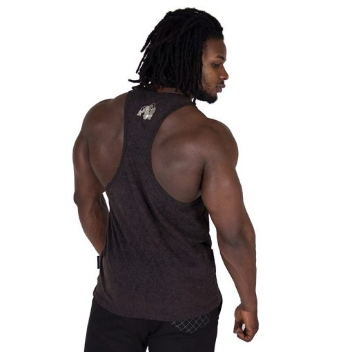 Fitness Tank Top Zwart - Gorilla Wear Mill Valley-2
