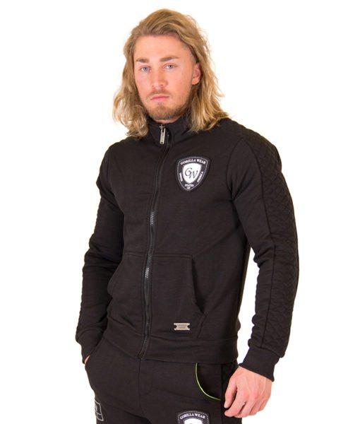Fitness Vest Zwart - Gorilla Wear Jacksonville Jacket-1