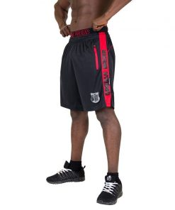 Gorilla Wear Shelby Shorts - Black:Red-1