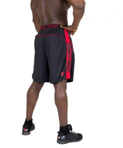Gorilla Wear Shelby Shorts - Black:Red-2
