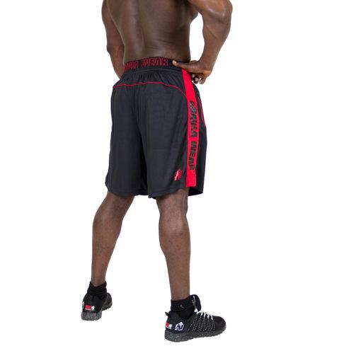 Gorilla Wear Shelby Shorts - Black:Red-2