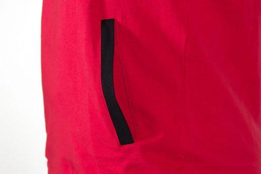 Sleeveless Fitness Shirt met Hoodie Rood - Gorilla Wear Melbourne-4