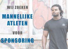 Mannelijke atleten gezocht voor bodybuilding sponsoring