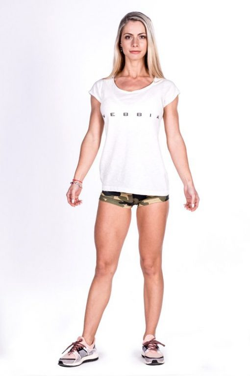 fitness shirt wit nebbia 277 voorkant 2
