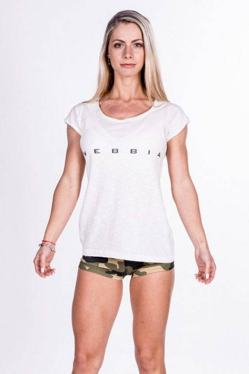 fitness shirt wit nebbia 277 voorkant