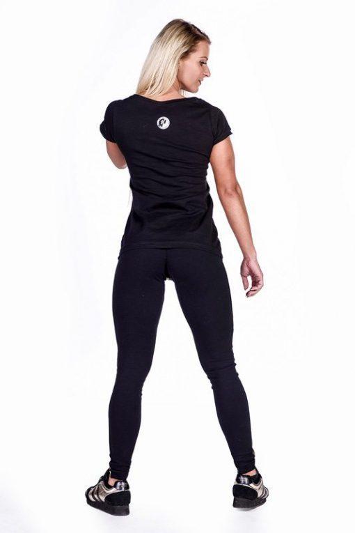 fitness shirt zwart nebbia 277 achterkant