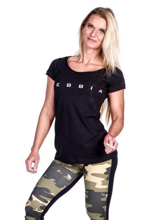 fitness shirt zwart nebbia 277 voorkant