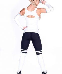 Fitness singlet wit Nebbia 268 achterkant