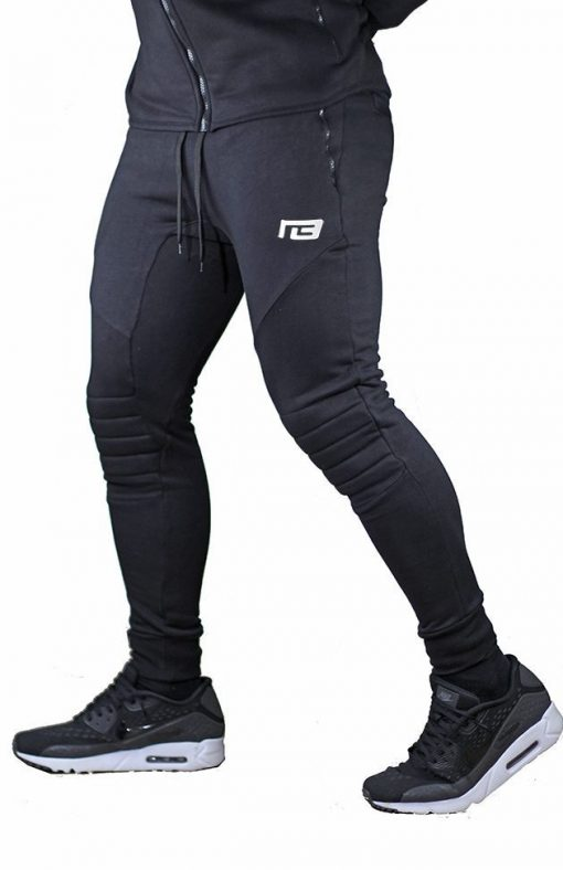 Fitnessbroek Ultimate Zwart - Muscle Brand-1