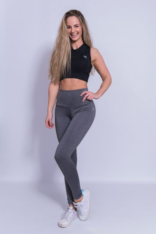 Mfit High Waist Legging Grijs-1