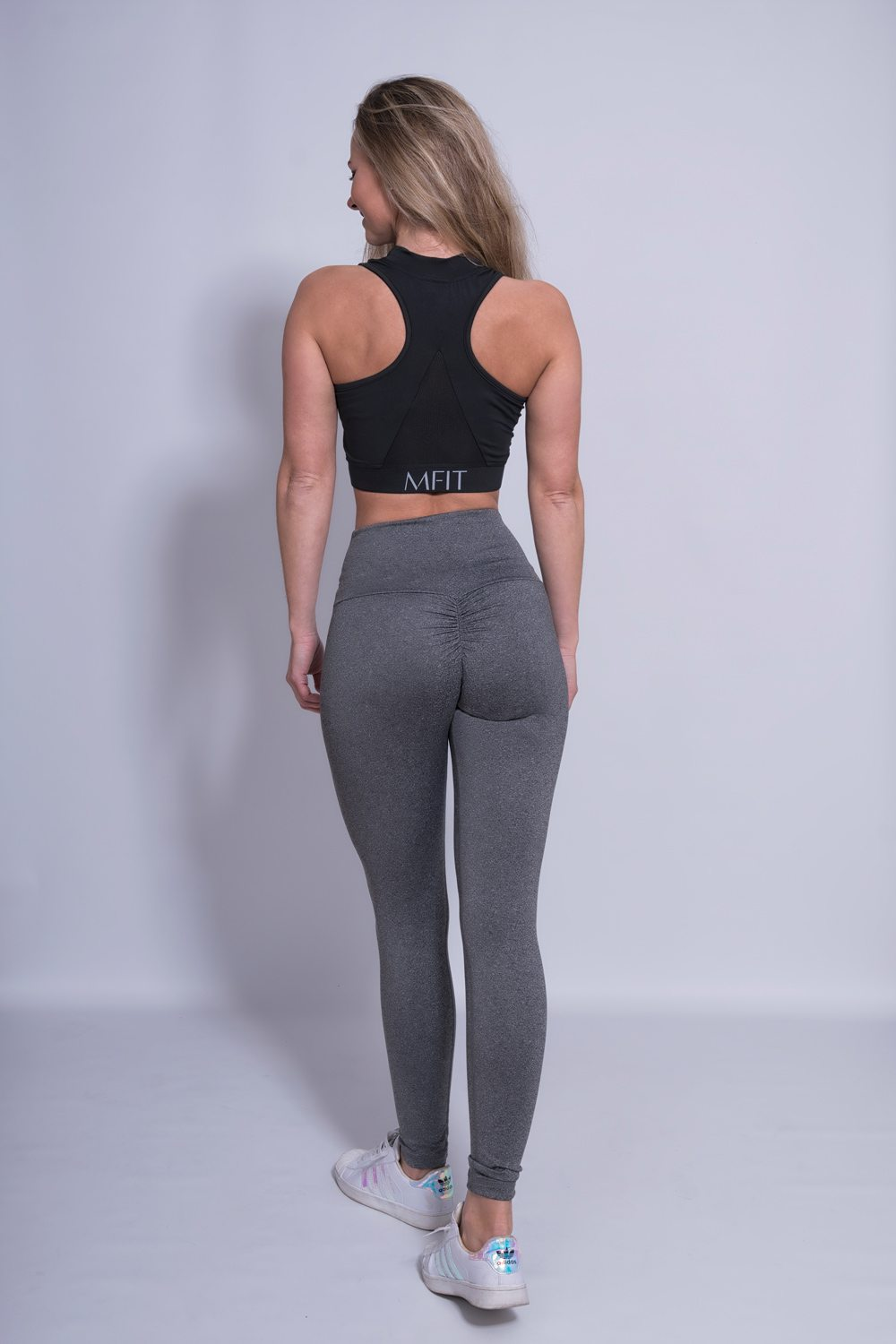 Mfit High Waist Legging Grijs-2