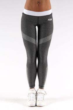 Sportlegging Dots Grijs - Muscle Brand-3