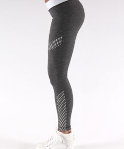 Sportlegging Dots Grijs - Muscle Brand-4