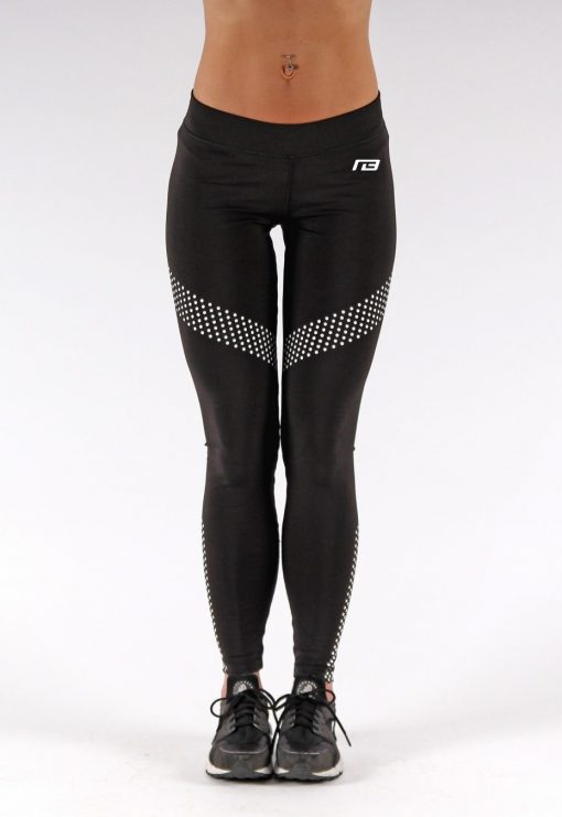 Sportlegging Dots Zwart - Muscle Brand-3