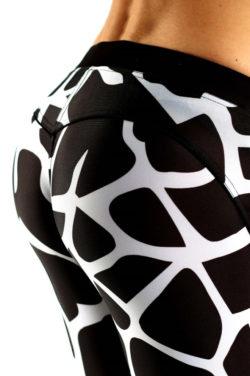 Sportlegging Giraffe Muscle Brand achterkant zoom