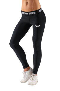Sportlegging Perform Zwart - Muscle Brand-1