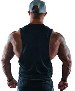 Tanktop Beast #1 Zwart - Muscle Brand-3