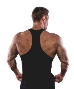 Tanktop Muscle Boy Zwart - Muscle Brand-2
