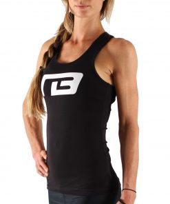 Tanktop Perform Zwart - Muscle Brand-2