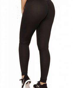 High Waist Sportlegging Rood – Mfit-2
