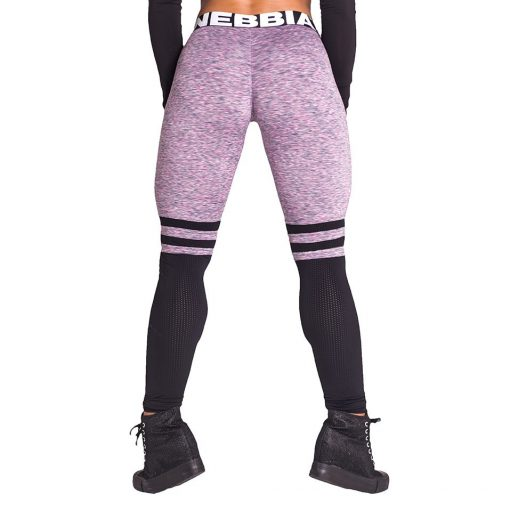 Fitness Leggings Sox lila Nebbia Leggings 286 achterkant
