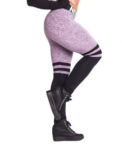 Fitness Leggings Sox lila Nebbia Leggings 286 zijkant pose