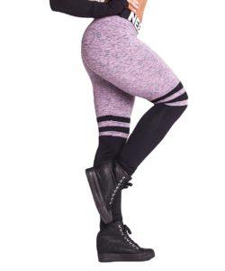 Fitness Leggings Sox lila Nebbia Leggings 286 zijkant pose
