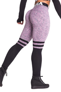 Fitness Leggings Sox lila Nebbia Leggings 286 zijkant achter