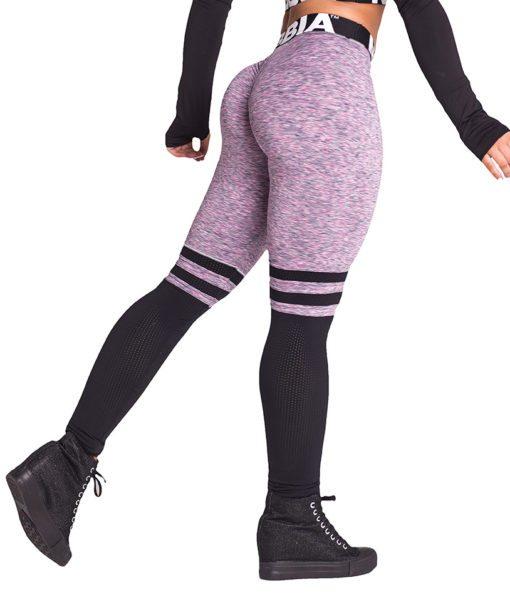 Fitness Leggings Sox lila Nebbia Leggings 286 zijkant achter