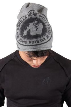 Beanie Grijs - Gorilla Wear Oxford Beanie 3