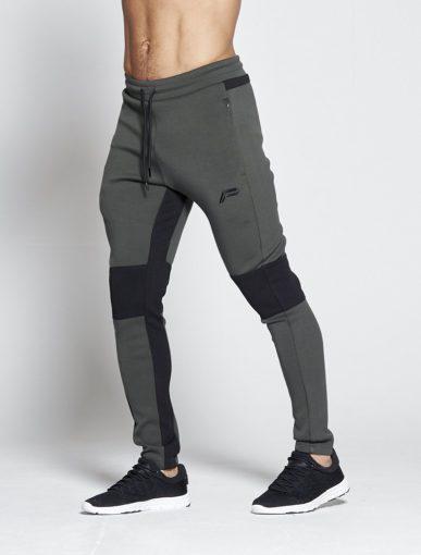 Fitness Broek Khaki Hybrid – Pursue Fitness voorkant