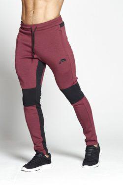 Fitness Broek Rood Hybrid - Pursue Fitness voorkant