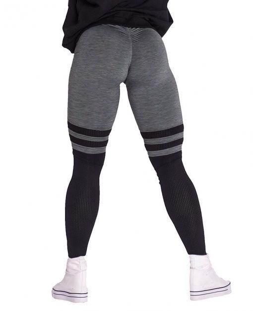 Fitness Leggings Sox kaki Nebbia Leggings 286 achterkant
