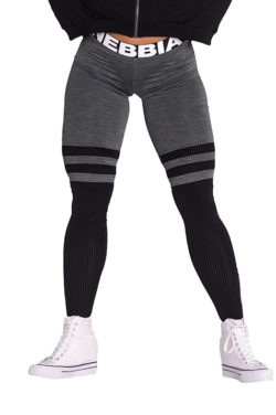 Fitness Leggings Sox kaki Nebbia Leggings 286 voorkant