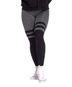 Fitness Leggings Sox kaki Nebbia Leggings 286 voorkant
