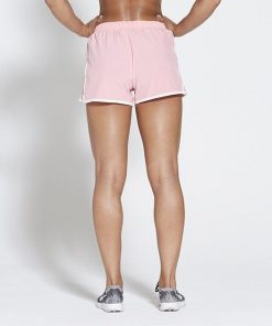 Fitness Short Roze - Pursue Fitness achterkant