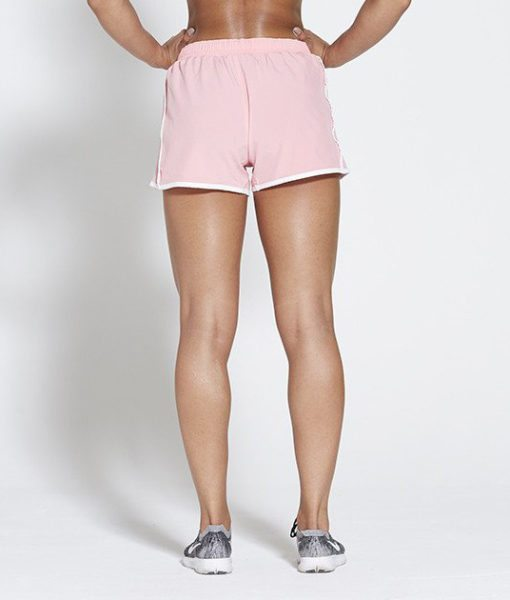 Fitness Short Roze - Pursue Fitness achterkant