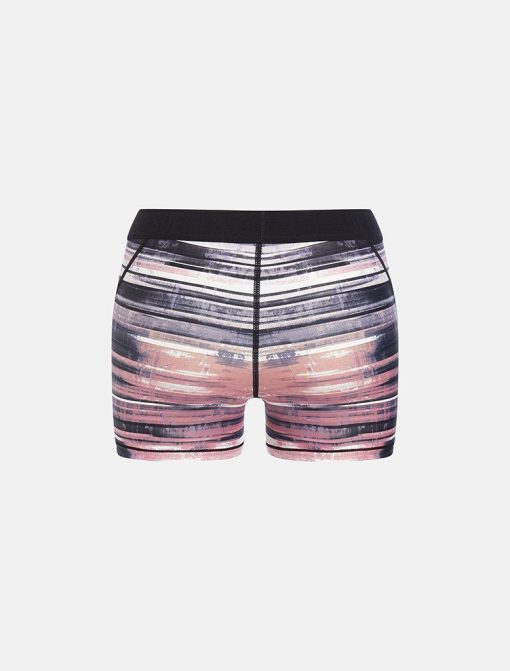 Fitness Short Wit Roze Pursue - Fitness Allure Coral Pink achterkant los