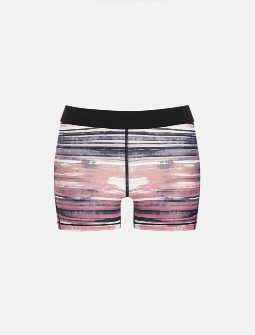Fitness-Short-Wit-Roze-Pursue Fitness Allure Coral Pink-voorkant-los