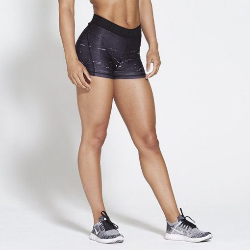 Fitness-Short-Zwart-Pursue-Fitness-Allure-Black-Ice-voorkant