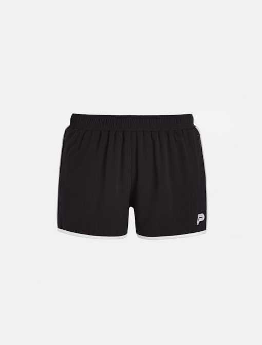 Fitness Short Zwart - Pursue Fitness voorkant