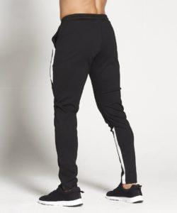 Fitness Trainingsbroek Zwart-Wit - Pursue Fitness achterkant