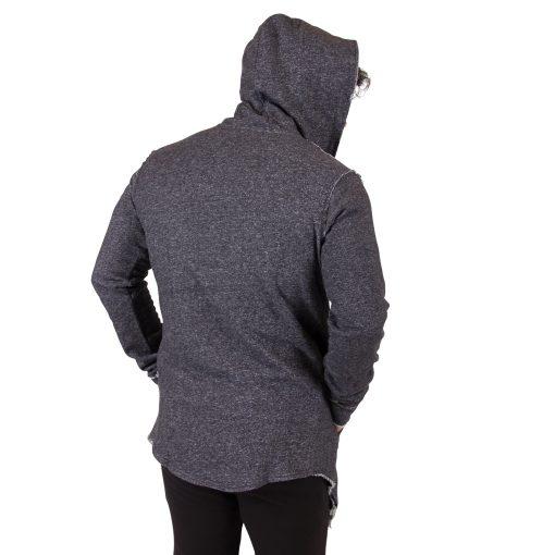 Fitness Vest Grijs Bolder - Gorilla Wear achterkant-2